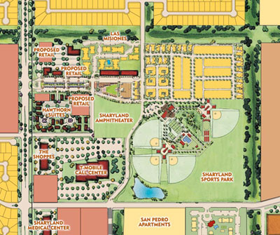 The Grove Area Map